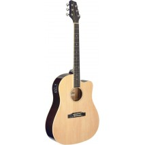 Stagg SA35 DSCE-N elektro-akusztikus gitár