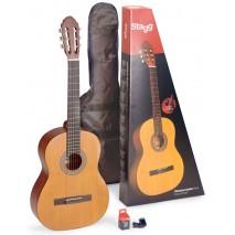Stagg C440 M NAT Pack klasszikus gitár szett