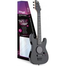 Stagg GAMP200-BK elektromos gyakorló gitár