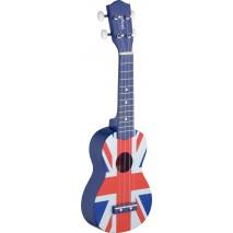 Stagg US UK-FLAG Szoprán ukulele