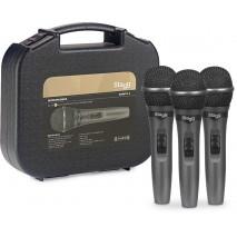 Stagg SDMP15-3  énekmikrofon szett