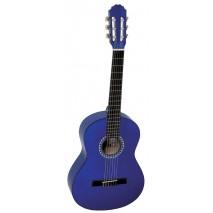 GEWA Basic 4/4 -es kék klasszikus gitár