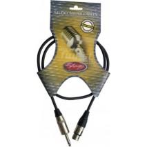Stagg NMC1XP 1 méteres XLR-JACK kábel