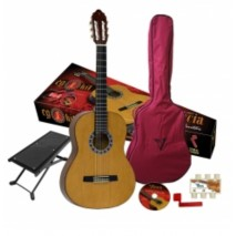 Valencia CG1K-3/4-NA klasszikus gitár szett