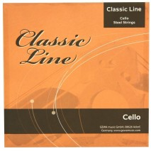 GEWApure csellóhúr Classic Line 4/4 es készlet