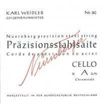 Nürnberger csellóhúr N90
