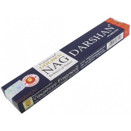Golden Nag Darshan masala füstölő