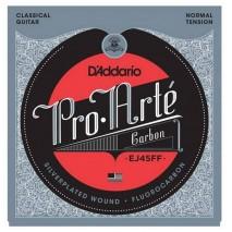 D'Addario EJ45FF Pro-Arte Carbon, Dynacore Basses, Normal Tension Klasszikus nylon húr