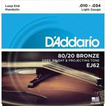 D'Addario EJ62 Mandolin húr