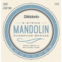 D'Addario EJ73 Mandolin húr