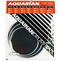 Aquarian TCRSP2A-BK dobbőr szett