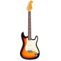 SX Vintage ST 62 3-Tone Sunburst elektromos gitár