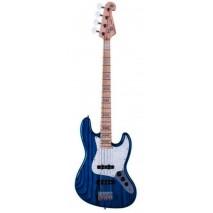 SX SJB75 Trans Blue basszusgitár