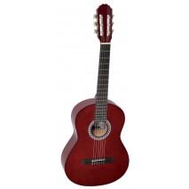 GEWA Basic 4/4 -es bordó klasszikus gitár