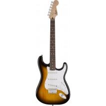 Squier Bullet Stratocaster Hard Tail Brown Sunburst elektromos gitár