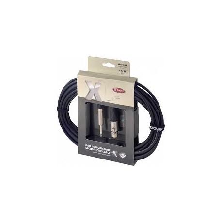 Stagg XMC10XP XLR/Jack kábel