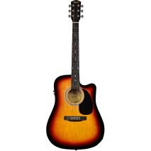 Fender Squier SA-105CE SB elektro-akusztikus gitár