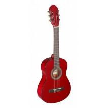 Stagg C405 M RED 1/4-es klasszikus gitár