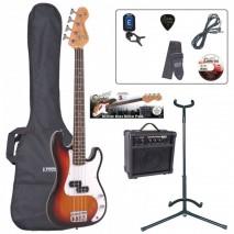 Encore EBP-E20SB 7/8 Outfit Sunburst basszusgitár szett