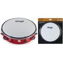 Stagg TAB−108P/RD csörgődob