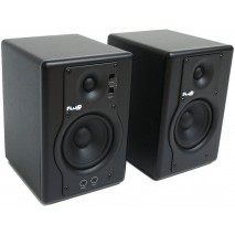Fluid Audio F4 Black stúdió monitor