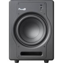 Fluid Audio F8S Black stúdió mélysugárzó