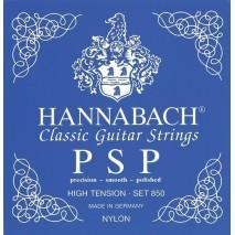 Hannabach E klasszikus gitárhúr 850 es széria High Tension,