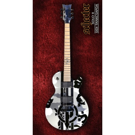 Schecter Solo II Sidi Elektromos gitár