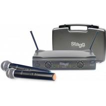Stagg SUW 50 MM EG EU vezeték nélküli mikrofon szett