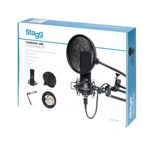 Stagg SUM45 SET USB mikrofon szett