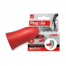 Alpine Plug&Go - Általános füldugó kulcstartós tárolóval 5 pár