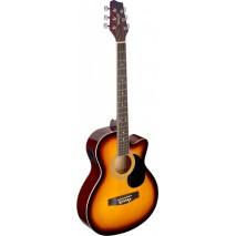 Stagg SA20ACE SNB elektro- akusztikus gitár