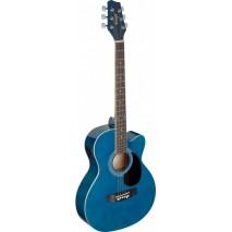 Stagg SA20ACE BLUE elektro- akusztikus gitár