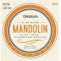 D'Addario EFT74 Flat Tops Mandolin húrkészlet