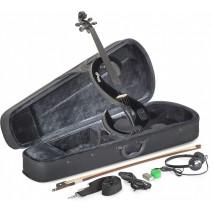 Stagg EVN 4/4 BK elektromos hegedű