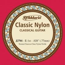 D'Addario J2701 nylon gitárhúr É '