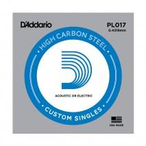 D'Addario PL 017 elektromos darab gitárhúr
