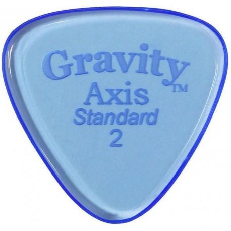 Gravity Picks GAXS2P Axis Standard 2.0mm Prémium pengető