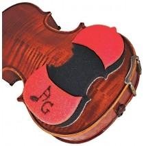 Acousta Grip hegedű vállpárna piros színben
