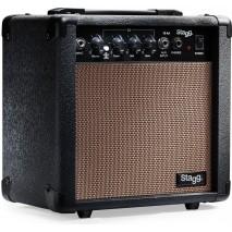 Stagg 10 AA EU 10 w- os akusztikus gitár erősítő