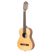 Ortega R121L-1/2 balkezes klasszikus gitár, tokkal