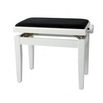 GEWA zongora pad deluxe fehér magasfényű