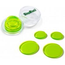 SlapKlatz tompító zöld színben