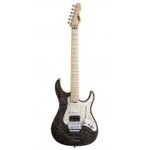 ESP Snapper CTM 24 FR See Thru Black elektromos gitár