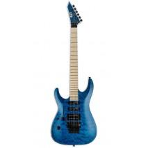 LTD MH-203QM STB LH SEE THRU BLUE elektromos gitár