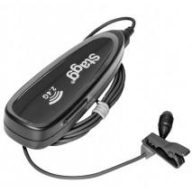 Stagg SUW 10L vezetéknélküli csíptetős mikrofon szett