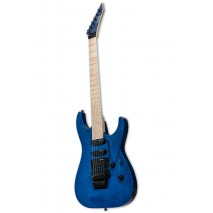LTD MH-203QM STB SEE THRU BLUE elektromos gitár