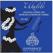 Hannabach 231 MT szoprán ukulele húrszett