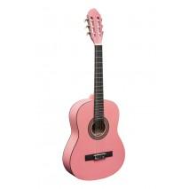 Stagg C430 M PK Pink 3/4 es klasszikus gitár