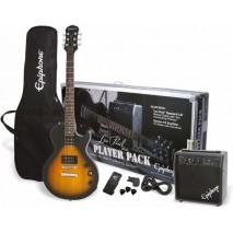 Epiphone Les Paul Player Pack Vintage Sunburst elektromos gitár szett